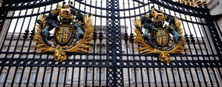 Buckingham Palace Gates, London
