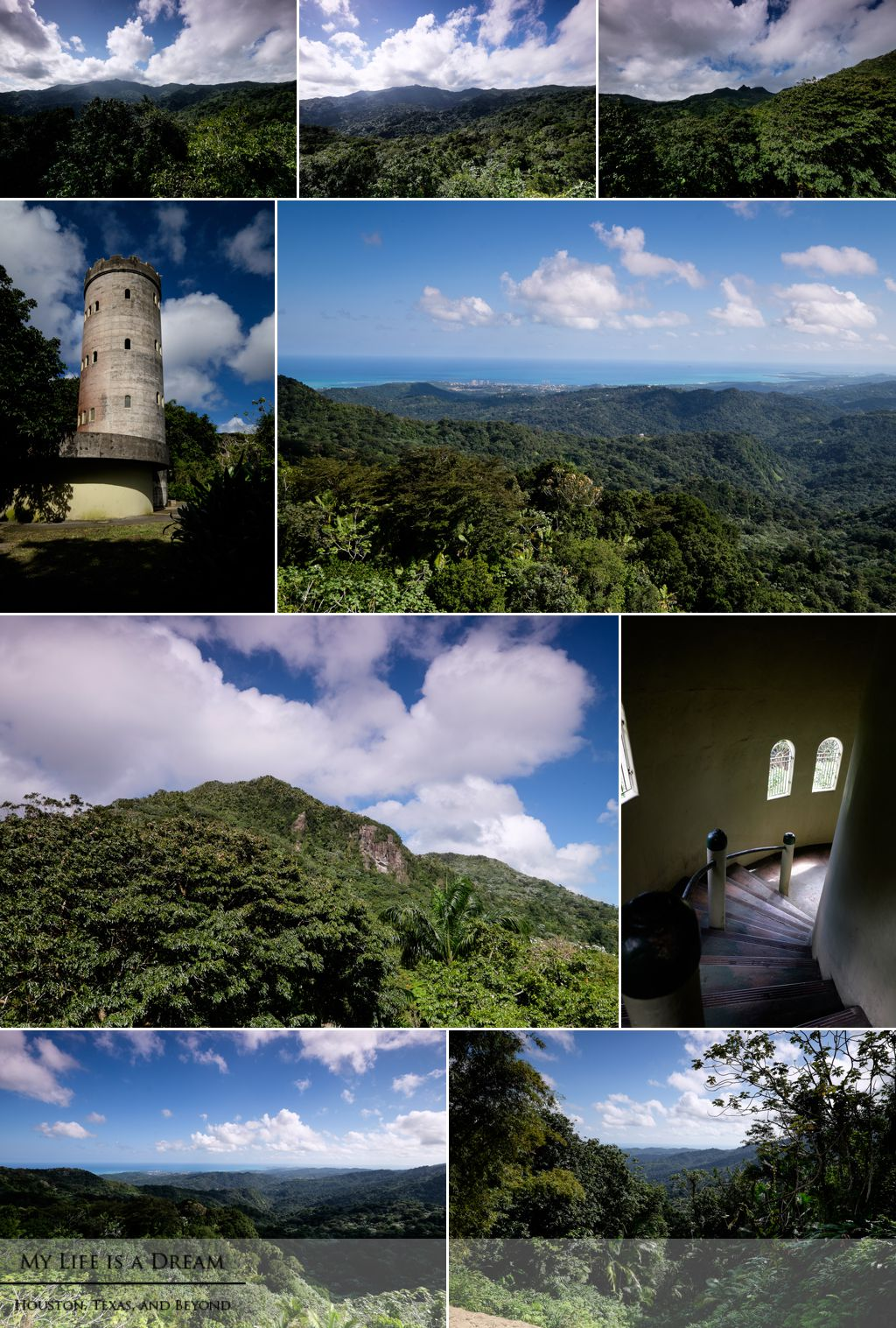 Yokahu Tower, El Yunque National Forest, Puerto Rico