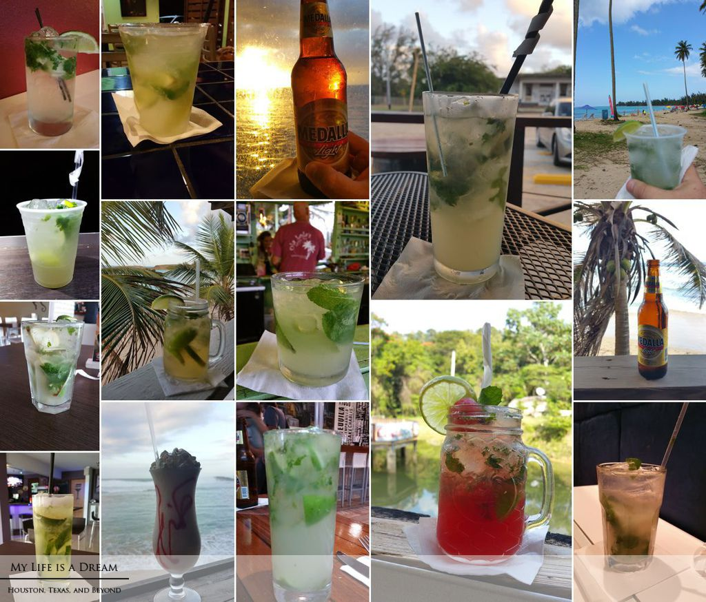 Mojitos in Puerto Rico