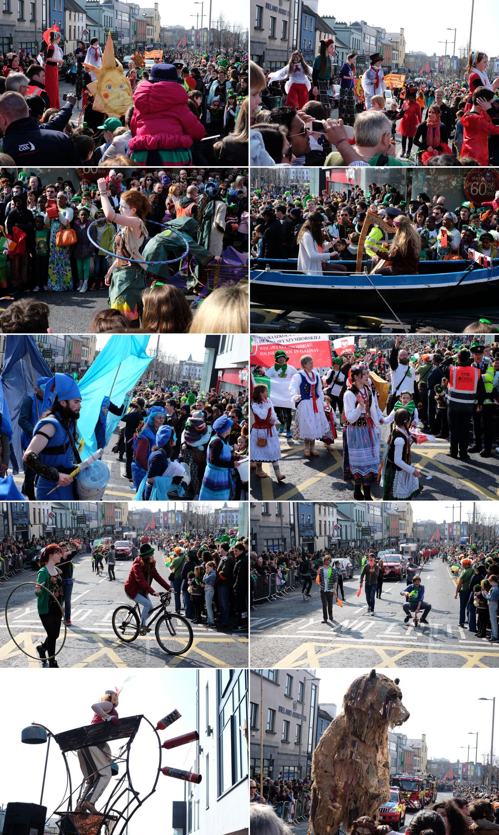 St. Patrick's Day Parade in Galway, Ireland