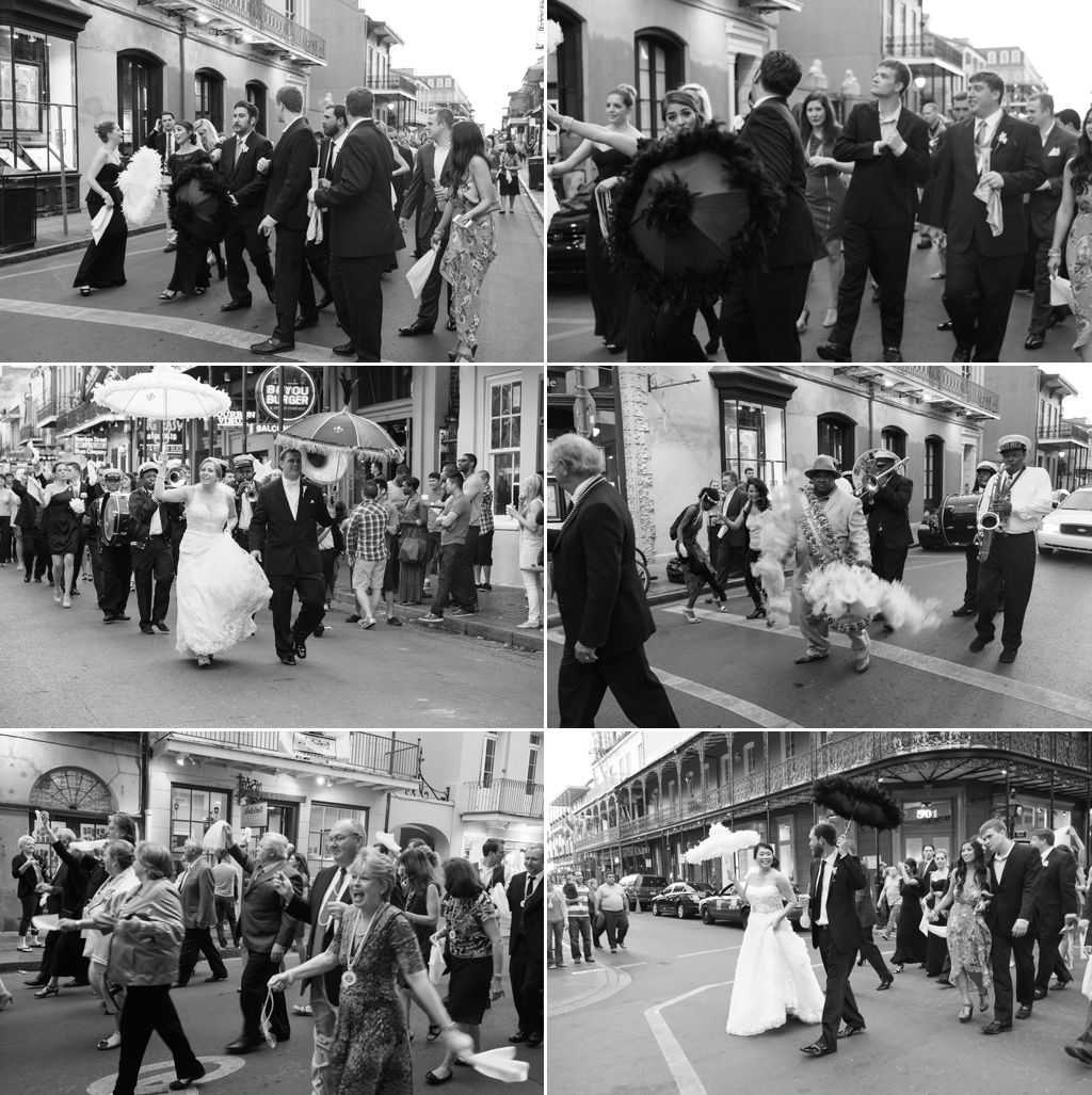 New Orleans Wedding Procession
